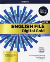 ENGLISH FILE GOLD A2/B1 PREMIUM STUDENT BOOK & WORK BOOK+EBOOK+OOSP VOL. U