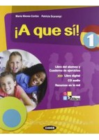 A QUE SI! 1 +CD +LIBRO DIGITAL 1