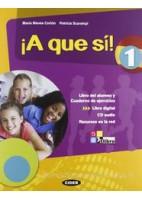 A QUE SI! 1 +CD +LIBRO DIGITAL 1