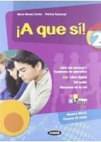 A QUE SI! 2 +CD +LIBRO DIGITAL 2
