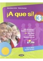 A QUE SI! 3 +CD +LIBRO DIGITAL 3
