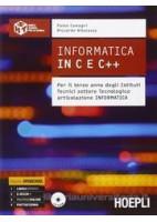 INFORMATICA IN C E C++ PER IL TERZO ANNO DEGLI ISTITUTI TECNICI SETTORE TECNOLOGICO, ARTICOLAZIONE V